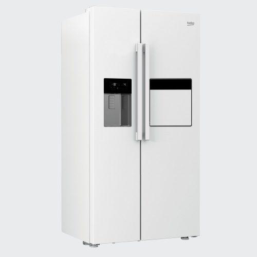 162420E 2 500x500 - سایدبای ساید بکو 2درب سفید مدل:GN162420E