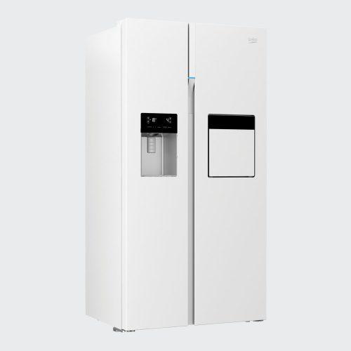 162423ZE 11 500x500 - سایدبای ساید بکو 2درب سفید مدل:GN162423ZE
