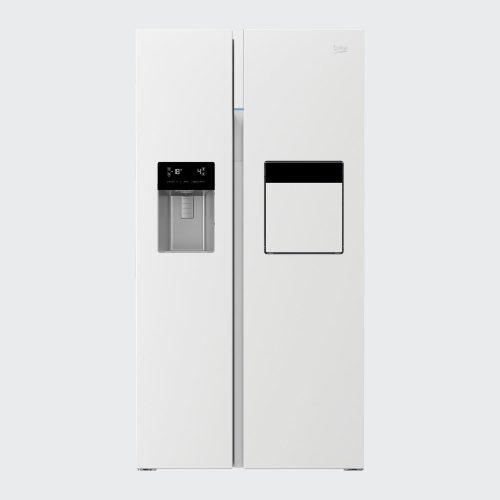 162423ZE 500x500 - سایدبای ساید بکو 2درب سفید مدل:GN162423ZE
